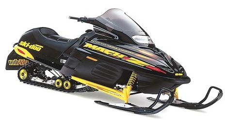 2000 Sk-Doo Snowmobile Parts