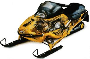 1997 Ski-Doo Snowmobile Parts